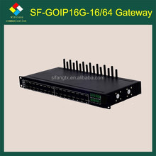 Wifi adapter VoIP call termination 16 ports goip gateway with imei change gateway 3ds flash card for 3ds