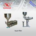 semi automatic pneumatic liquid filler