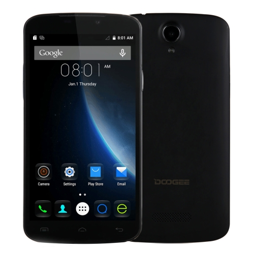 Perfect style DOOGEE X6 8GB Network 3G Smart Mobile Phone 5.0 inch android smart mobile phone