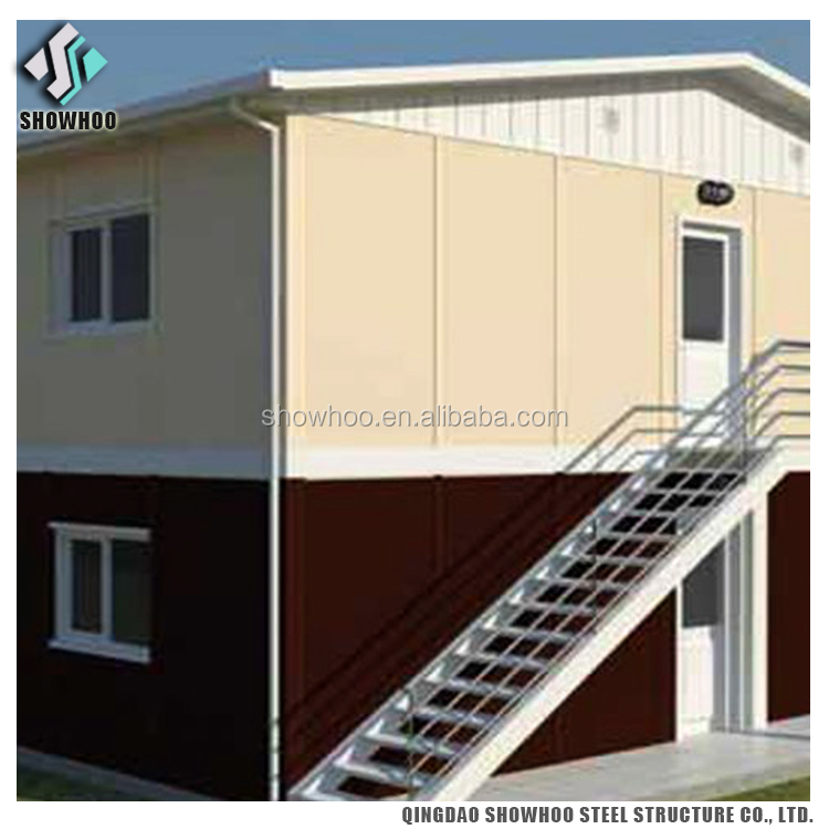 Design Prefabricated Steel Structure Apartments Building