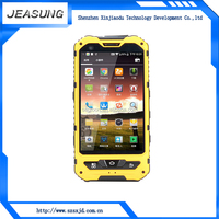 China factory wholesale IP68 waterproof 4 inch android rugged dual sim cell phone with nfc