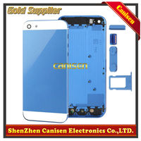 Colorful for iphone 5 24k gold plating back cover,for iphone 5 gold back panel,for iphone 5 back housing in high quality