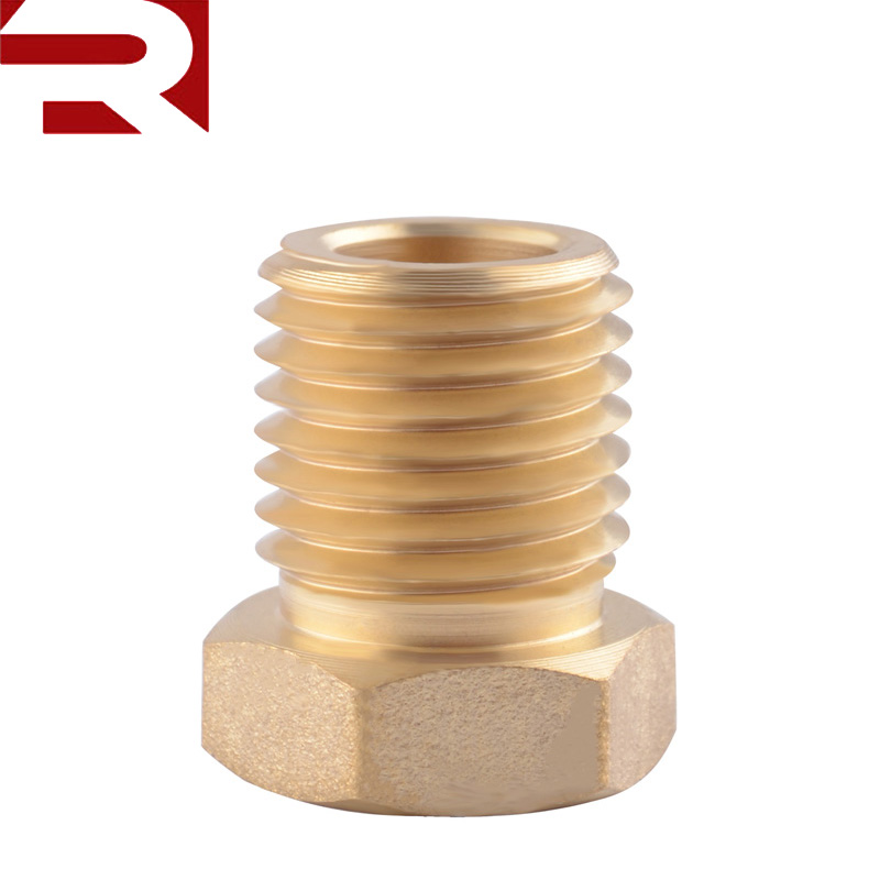 Brass 1/8 NPT to M14*1.5 Oil Temperature Pressure Sensor <strong>Sump</strong> <strong>Plug</strong> Adaptor