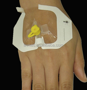 Dialysis infusion set dressing