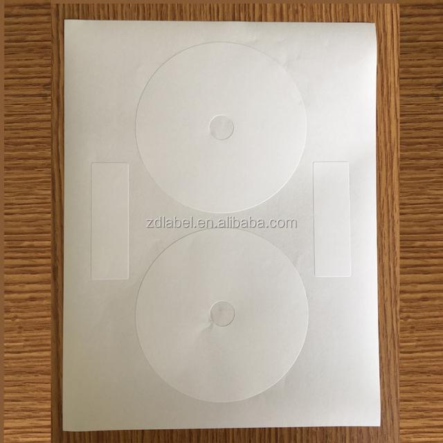 Compulabel 312693 - Self Adhesive White CD/DVD Labels. 4.65
