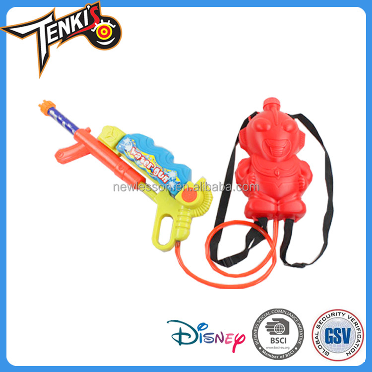 new arrival lovely cartoon backpack child toy water spray gun