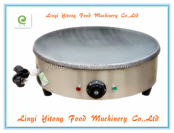 2014 hot sale stainless steel electric crepe cooker for pies and meat