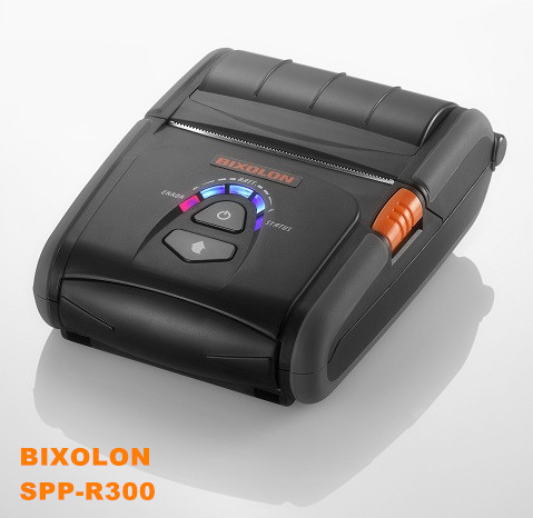SPP-R300 BIXOLON wireless battery powered portable receipt printer