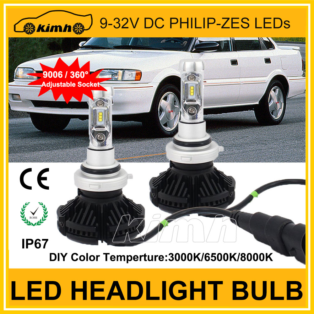 Led headlight bulb 2 years warranty fog lights led headlight for car