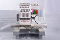Glitter Single heads small computerized automatic embroidery machine with prices