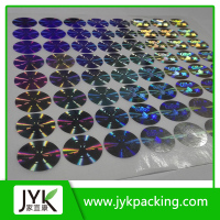 wholesale custom security id card hologram stickers