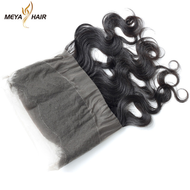 Factory price goodly 360 lace frontal closure Lima body wave remy hair with hair extension packaging