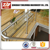 Stainless steel pipe stair handrail for elderly