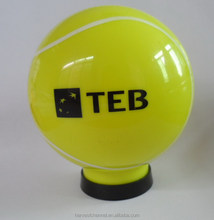 Plastic abs golf ball shaped money box/ Coin Bank