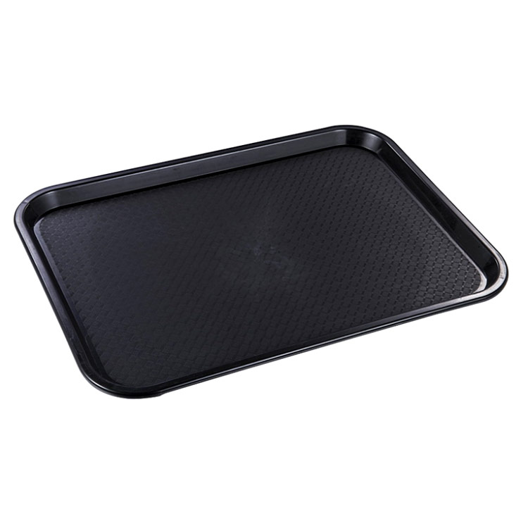 Factory made COLOR Customized cheap plastic fast food serving tray