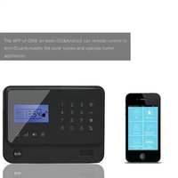 Newest Black keypad!! Wireless GSM wireless home alarms& gsm alarmanlage, Spanish APP SMS Call gsm alarm system manual G90