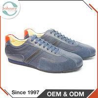 Wholesale Rubber Outsole Soft Men Casual Shoes To Wear With Jeans