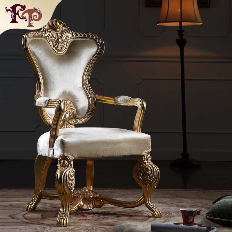 Royal Classic European Furniture Hand Carved Solid Wood