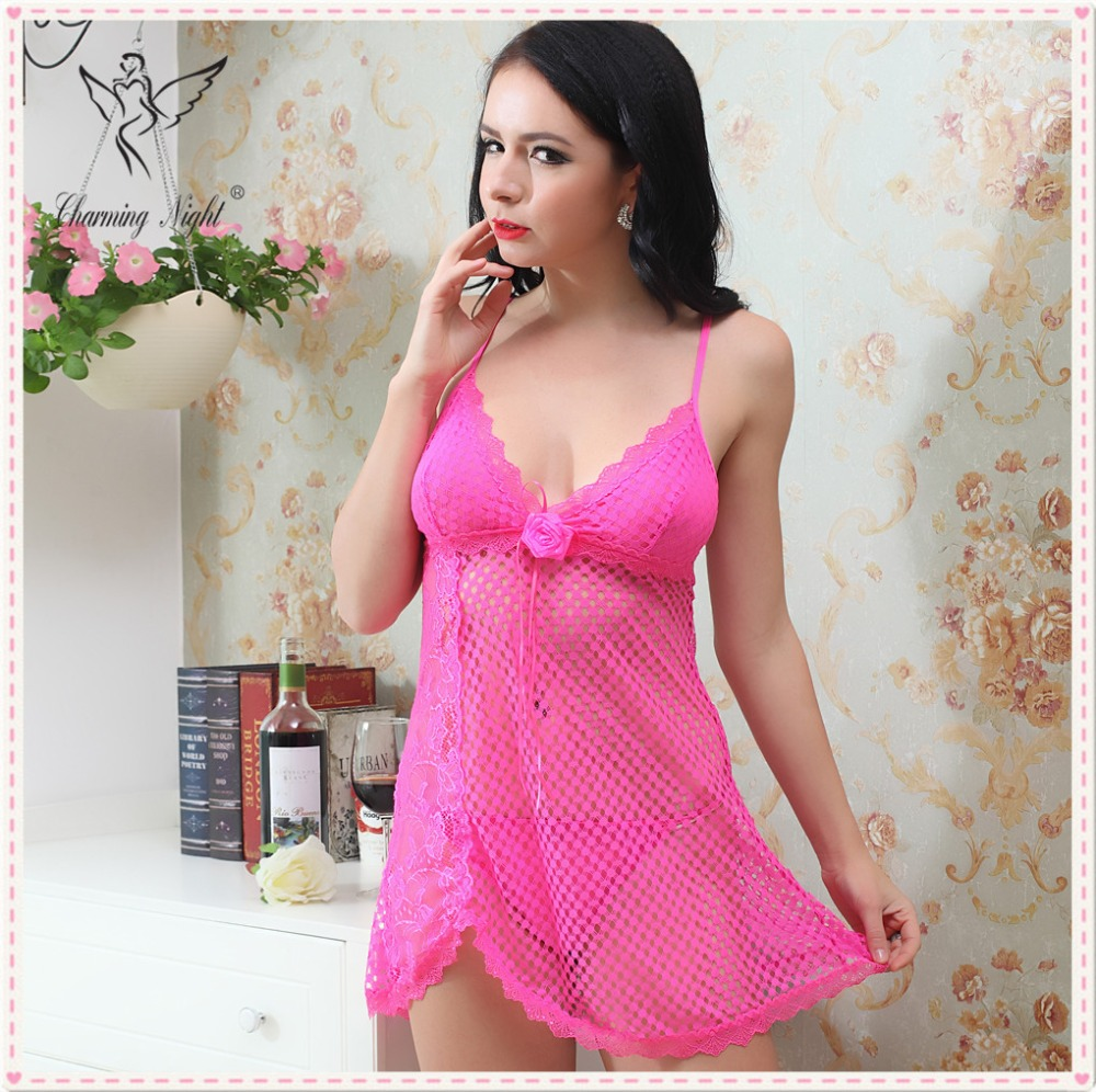 Charming Night women comfort nightwear hot fashion sexy cupless babydoll lingerie