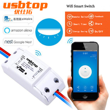 Itead Sonoff Remote Control Wifi Switch Smart Home Intelligent Wireless Timer Universal Switch for Light Bulb Electrical Devices