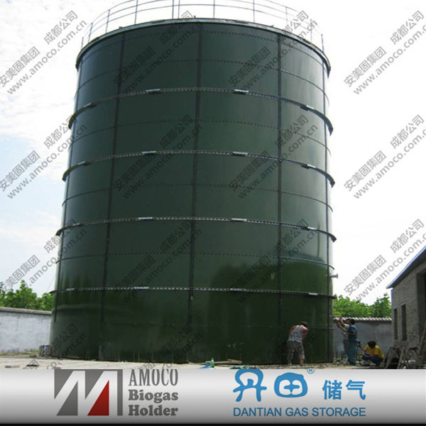 Biogas Fermenter / Digester /Septic Tanks With Biogas Container For Biogas Plant