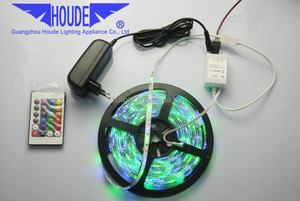 5M SMD 5050 RGB STRIP LED LIGHT 300 LED WATERPROOF FLASH LIGHT MULTI COLOR TAPE