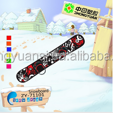 90/110/126/147 cm plastic snowboards for sale