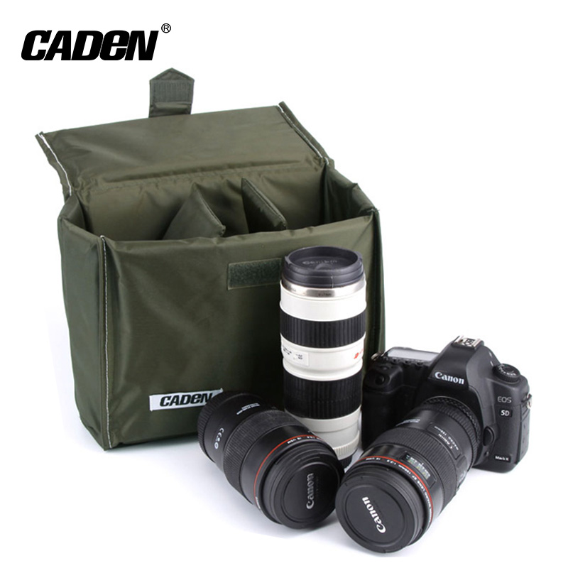 Custom dslr video camera insert padding bag for military waterproof backpack