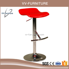 Acrylic Industrial Metal Singer Stool Bar Stool Swivel Chair