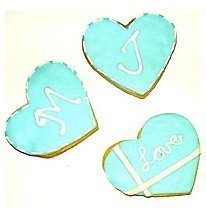 wedding Tiffany with Love cookie