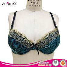 Hot sell high quality ladies lace women underwear sexy print bra