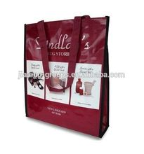 Eco-friendly bopp laminated bag,custom print and logo,OEM orders arewelcome