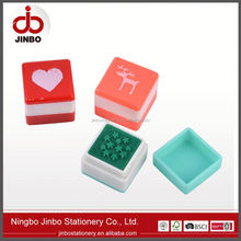 Stable performance factory directly plastic handle rubber stamp