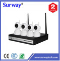 4ch NVR robot wireless ip camera