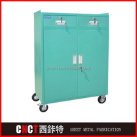Top Quality Sheet Metal Working Iso Certification Metal Tool Box With Wheels