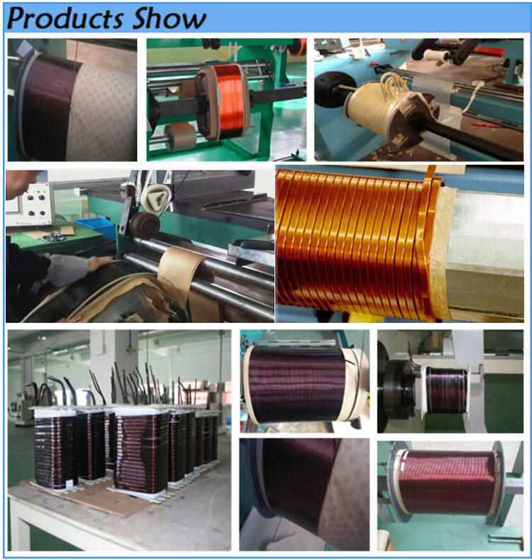 Transformer manual coper wire coil winding machine