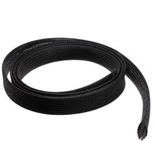 1 inch Flame Retardant Woven Polyester Expandable Wire Sleeving for Protect Cables