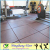 Recycled rubber flooring paving bricks for gym