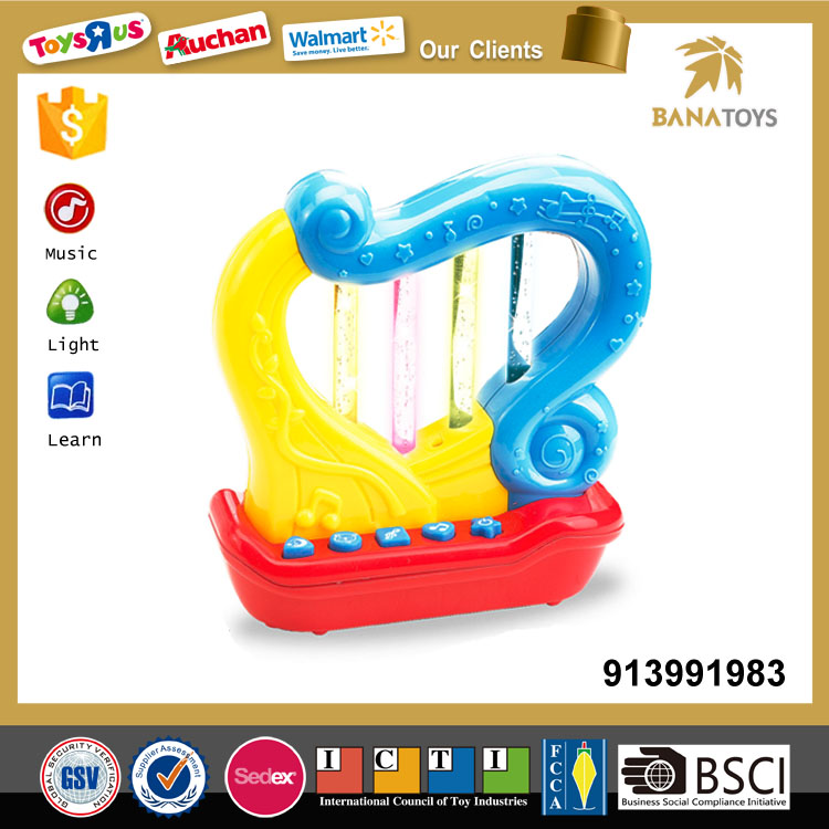 Funny baby toy harp musical instruments