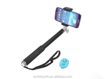 Mobile Phone Telescopic Cameras Monopod Selfie Stick RK906 New Model Kits