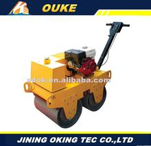 Factory direct supply 600mm gasoline engine,Exciting force 30kN used road roller,static road roller with great price