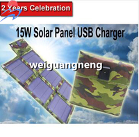 NEW 15w/5v Multi-Purpose Panel Solar Charger Battery Solar Panel Charger Cell Phone Car High Quality