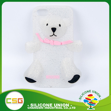 Secure bear toy multi-functional silicone waterproof mobile phone case