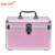 Yaeshii Pink Travel Combination Lock Cosmetic Case