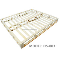Solid Pine Wood Bed Frame/ Solid Wood KD Bed/ Solid Wood Bed Slats