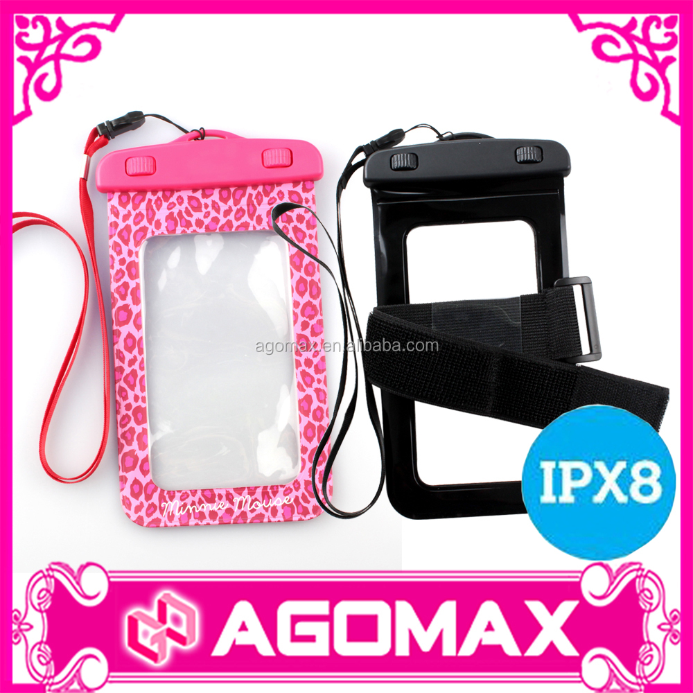 Wholesale Armband Waterproof Phone Case, PVC Waterproof Bag/Waterproof Pouch for Mobile Phone