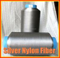 conductive Silver coated nylon fiber