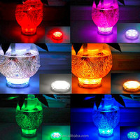 Battery Operated Remote Control Submersible Led Light Base