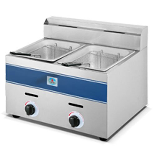 Fryer, 2x5.5l Gas