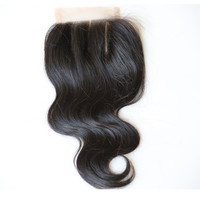 Direct Factory Top quality best sale 100% virgin russian body wave hair lace closure